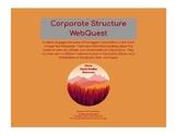 Corporation Structure WebQuest