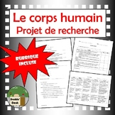 Corps humain projet (Human Body Project) French