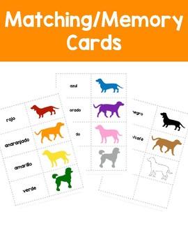 Corre, Perro, Corre: Flashcards, Bingo, Memory Game, and Songs