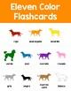 Corre, Perro, Corre: Spanish Colors Flashcards, Matching, Bingo
