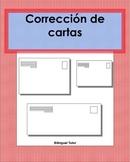 Spanish Editing/Corrección de cartas