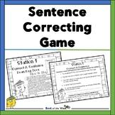 Correct-A-Sentence Game