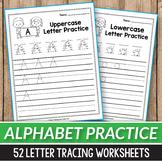 Alphabet Letter Tracing Worksheets a-z Correct Letter Formation