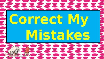 Correct My Mistakes