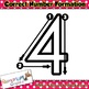 Correct Number Formation clip art