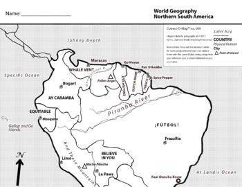 Correct-O-Map Geography Bundle No. 01