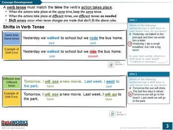 Correct Shift Errors in Verb Tense