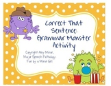 Speech Therapy: Correct That Sentence!