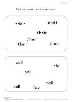 Correct Word (2nd Grade)