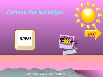 Correct grammar mistakes