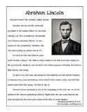 Correct the Capitals -- Abraham Lincoln