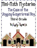 3rd Grade Word Problems - Mini-Math Mystery - Jogging Ging