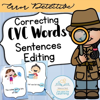 Correcting CVC Words (Sentences Editing)