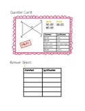 Correcting False Proofs Activity Cards