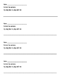 Correcting Sentences Practice- Perfect Ticket or Quick Assessment!