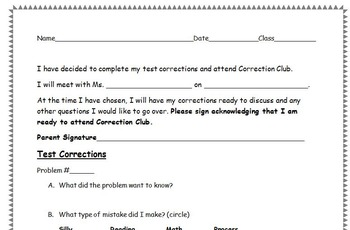 Correction Club