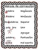 Correction Marks/Marcas de correcion