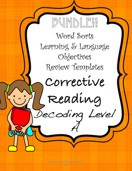 Corrective reading teaching resources teachers pay teachers corrective reading a supports bundle fandeluxe Choice Image