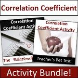 Correlation Coefficient Activity Bundle!