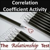 Correlation Coefficient Activity - Relationship Test
