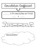 Correlation Coefficient Doodle Notes