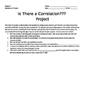 Correlation Project