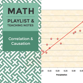 Correlation and Causation - Playlist and Teaching Notes