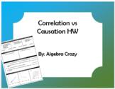 Correlation vs Causation HW