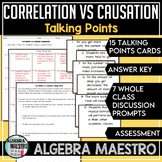 Correlation vs. Causation Talking Points, Prompt & Assessment