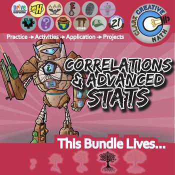 Correlations & Advanced Stats -- Pre-Calculus Curriculum Unit Bundle
