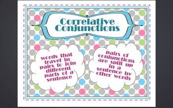 Correlative Conjunctions Bundle - Common Core Aligned