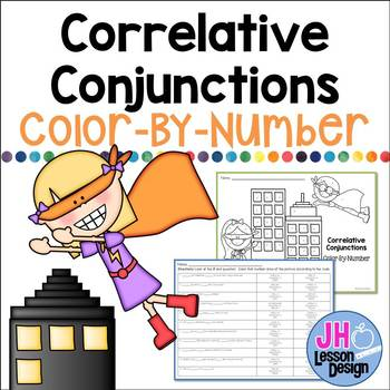 Correlative Conjunctions Color-By-Number