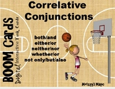 Correlative Conjunctions Digital Boom Cards Task Cards