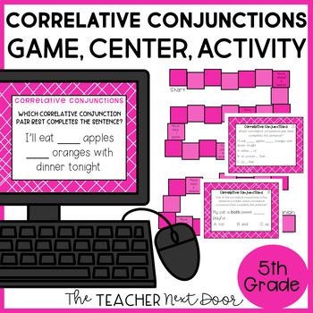 Correlative Conjunctions Game | Correlative Conjunctions Center