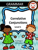 Correlative Conjunctions Level 1