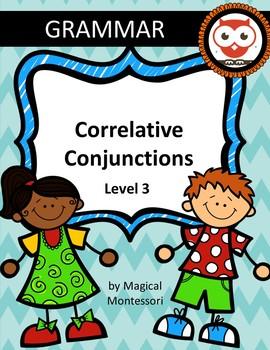 Correlative Conjunctions Level 3