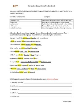 Conjunctions: Glue Words | Parents | Scholastic.com