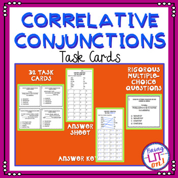 Correlative Conjunctions Task Cards