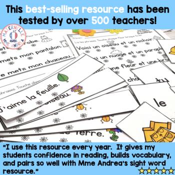Correspondance mot à mot - THE BUNDLE (FRENCH 1:1 correspondence sentences)