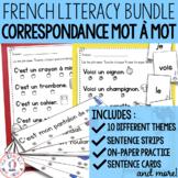 Correspondance mot à mot - THE BUNDLE (FRENCH 1:1 correspo