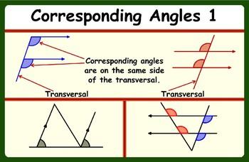 Corresponding Angles 1