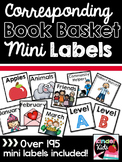 Corresponding Book Basket Mini Labels