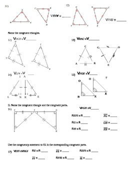 Corresponding Parts of Congruent Triangles