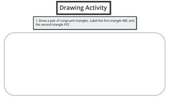 Corresponding Sides & Angles (PowerPoint Lesson and Printables!)