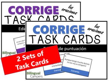 Corrige Task Card BUNDLE (puntuación y mayúsculas)