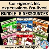 French Immersion Classroom Expressions BUNDLE | Activités