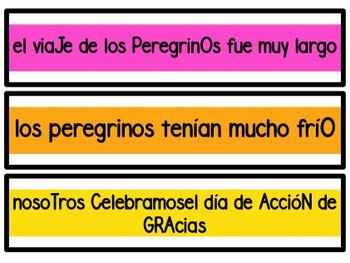 Corrigiendo Oraciones Noviembre - Let's Fix Sentences (November)