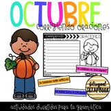 Corrigiendo Oraciones Octubre - Let's Fix Sentences (October)