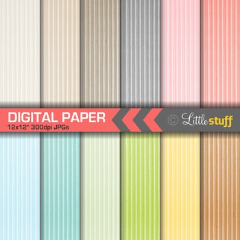 Corrugated Paper Digital Papers, Colored Cardboard Digital Backgrounds