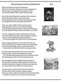Cortes and Montezuma -- poem, worksheets and puzzle